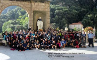 Crònica de la XVIII pujada a Montserrat